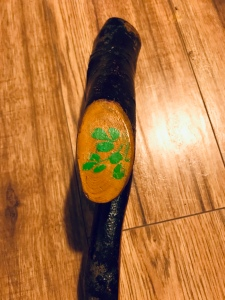 Irish tourist Shillelagh shamrocks