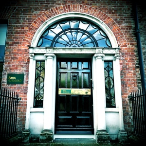 Entrance to the Irish Traditional Music Archive.