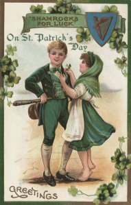 Saint Patrick's Day greetings